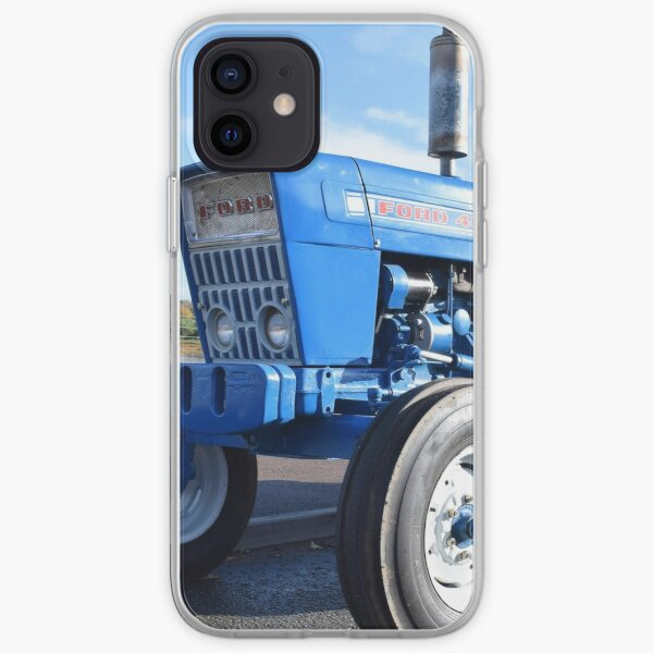 Ford 4000 Tractor by Four Wheeled Farming iPhone Soft Case