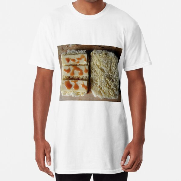 Bread, cheese and chili sauce Long T-Shirt