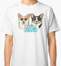 CORGI SQUAD - (The Doctor and the Queen) Classic T-Shirt