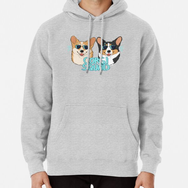 CORGI SQUAD - (The Doctor and the Queen) Pullover Hoodie