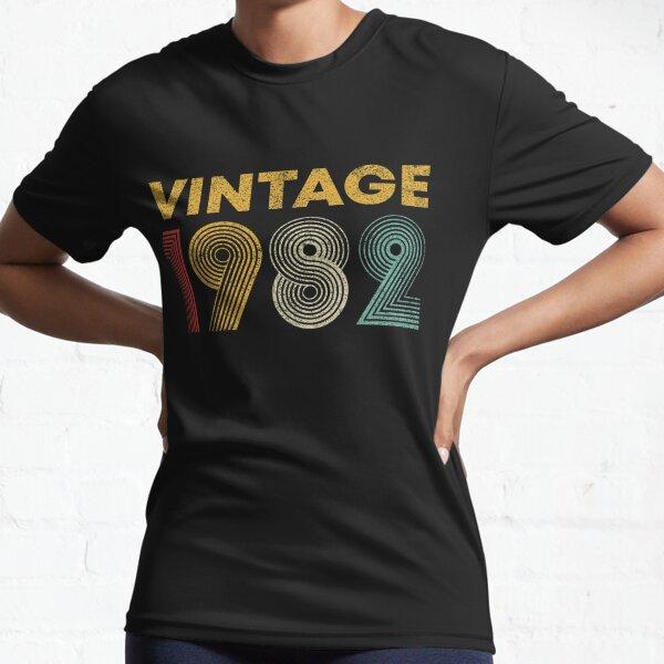 Vintage 1982 39.o regalo de cumpleaños hombres mujeres 39 años Camiseta deportiva
