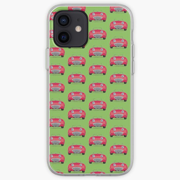Bug-eye/Frog-eye: Custom Cherry Red Frogeye  iPhone Soft Case