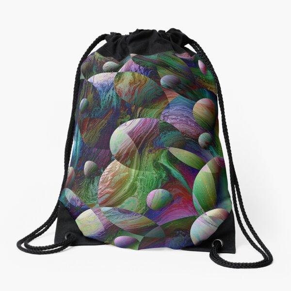 Orbs 4 Drawstring Bag