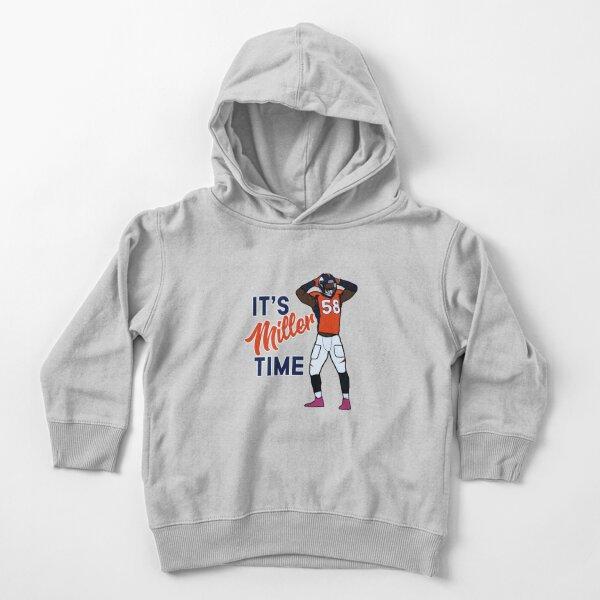 Von Miller 'It's Miller Time' Denver Broncos NFL Sweat à capuche épais pour tout-petit