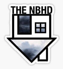the neighbourhood gray logo Sticker