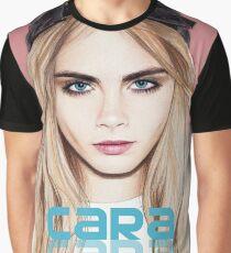 Cara Delevingne pencil portrait 2 Graphic T-Shirt