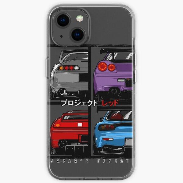 Japans Finest | Supra | R34 | NSX | FD3S RX7 iPhone Soft Case
