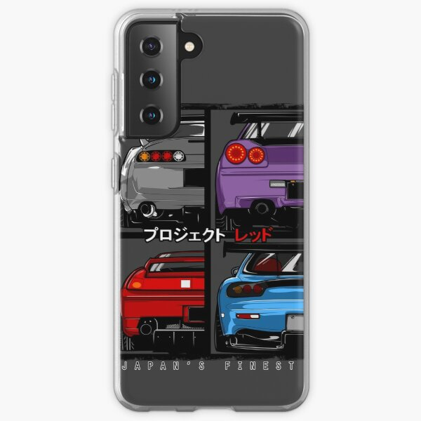 Japans Finest | Supra | R34 | NSX | FD3S RX7 Samsung Galaxy Soft Case