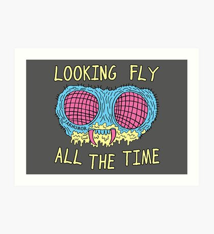Looking Fly Art Print