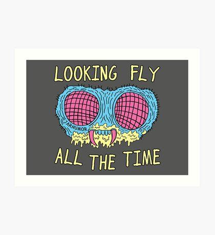 Buscando volar Lámina artística