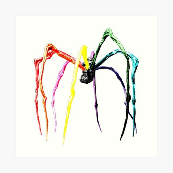 Spider Bilbao Lámina artística
