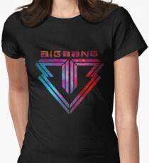 Big Bang - smokey Women's Fitted T-Shirt