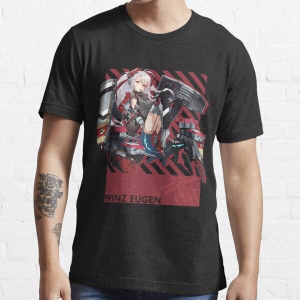 Prinz Eugen - Azur Lane - Typography 5 Essential T-Shirt