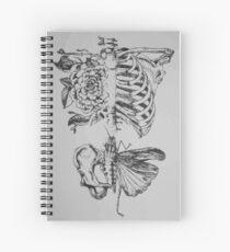 Cuaderno de espiral Anatomía suave
