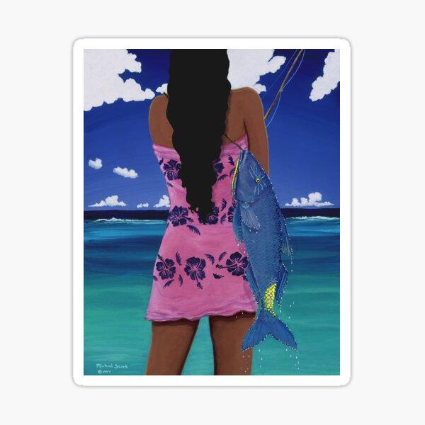 Lani's Moano Kea Sticker