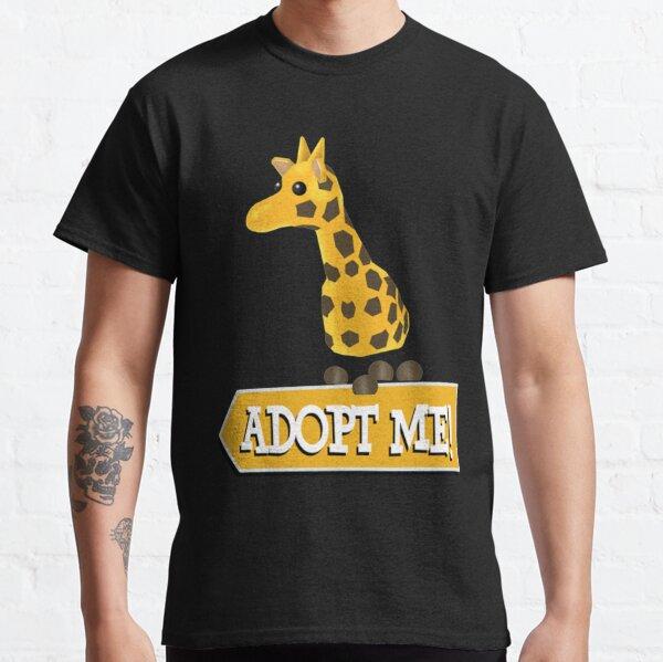 Adoptame Roblox Jirafa Camiseta clásica