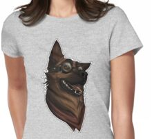 Dogmeat Graphic Womens Fitted T-Shirt
