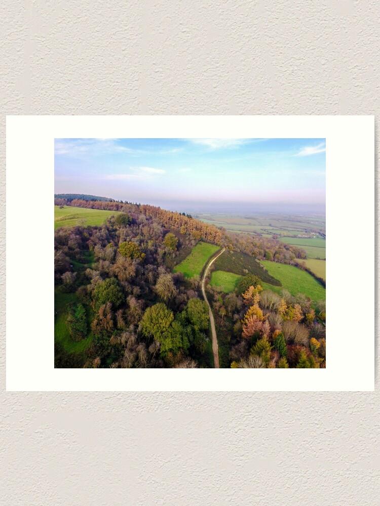 Alternate view of Autumn season Art Print