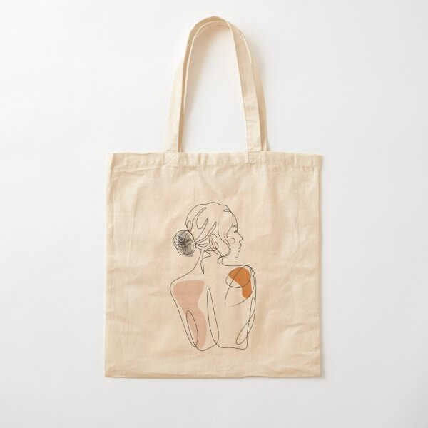 girl Cotton Tote Bag