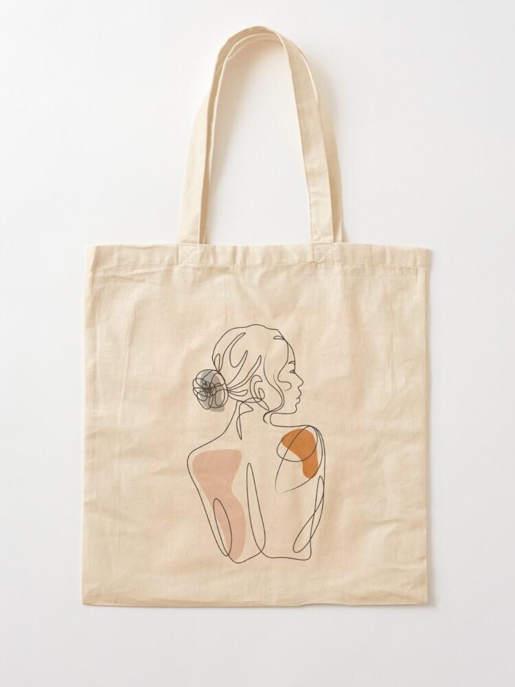 Alternate view of girl Tote Bag