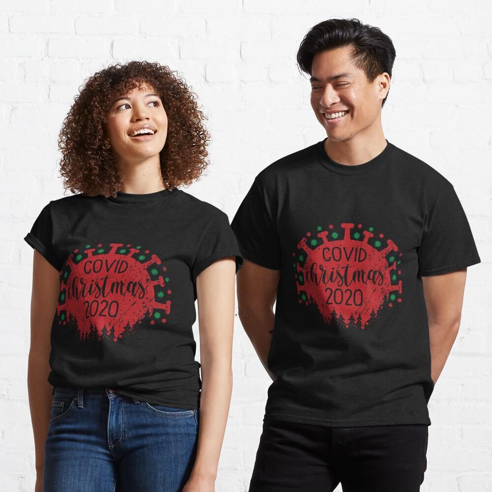 Funny Covid Christmas 2020 Merry Virus Classic T-Shirt