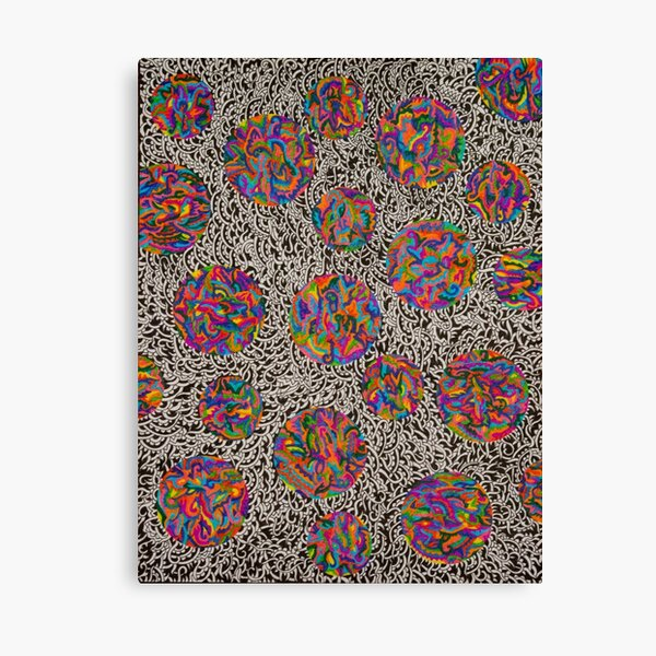 Psychedelic Bubble 1 Canvas Print