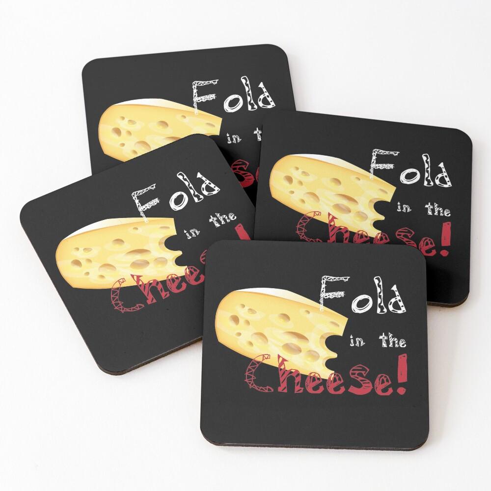Fold Cheese Coasters (Set of 4)