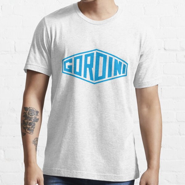 Emblème Simca Gordini - Trintignant, Behra, Manzon, Wimille, Sommer - imprimé bleu Gordini T-shirt essentiel