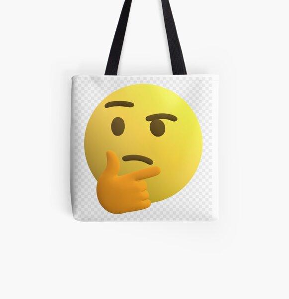 Emoji All Over Print Tote Bag