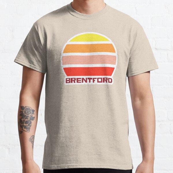 Retro Vintage Sunset Brentford London Souvenir Classic T-Shirt