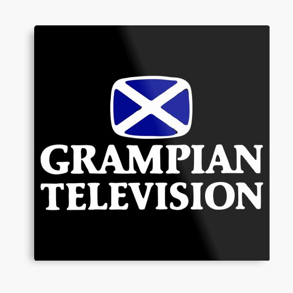 BEST SELLER Grampian TV Logo Merchandise Metal Print