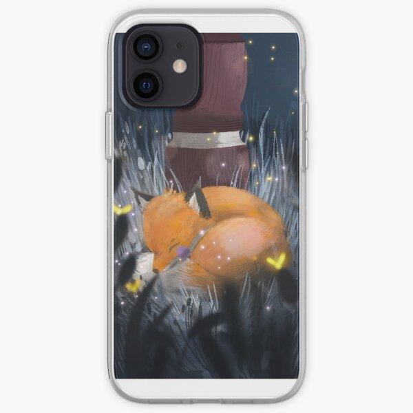 Kitchi: The Spirit Fox - The Sleeping Fox iPhone Soft Case