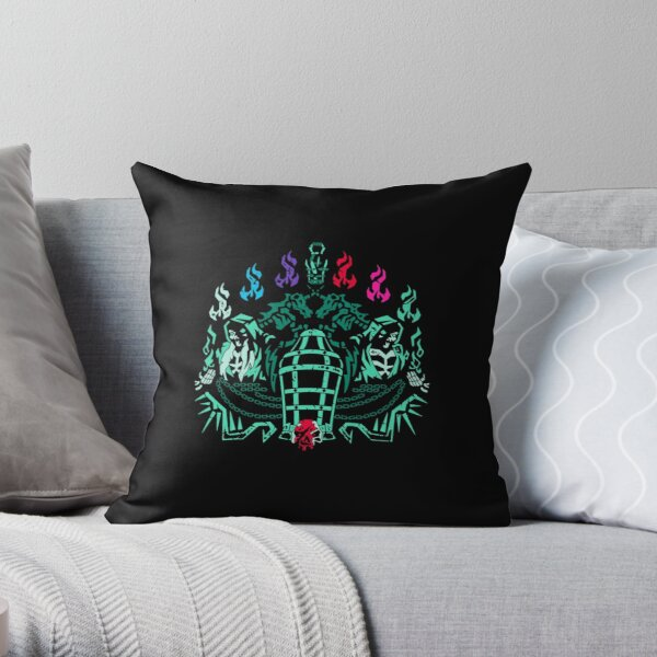 """""""Fort of the Damned"""" Sea of Thieves Design Coussin"""