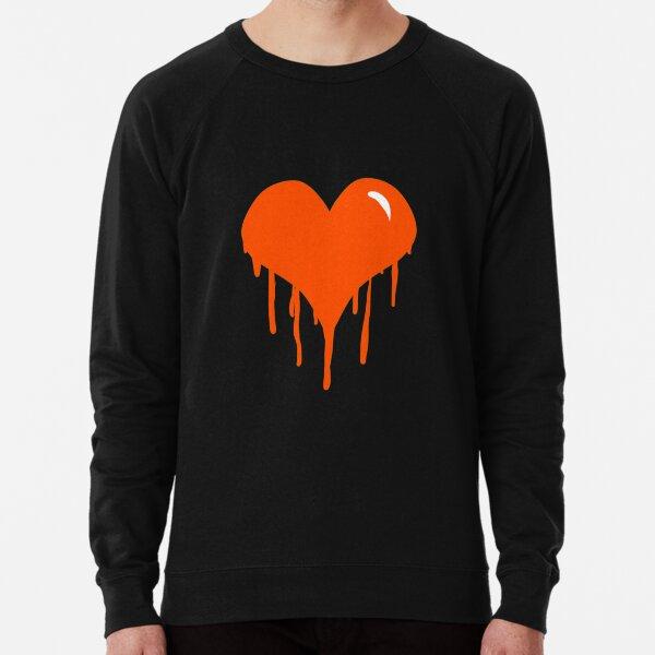 Dripping Heart Lightweight Sweatshirt