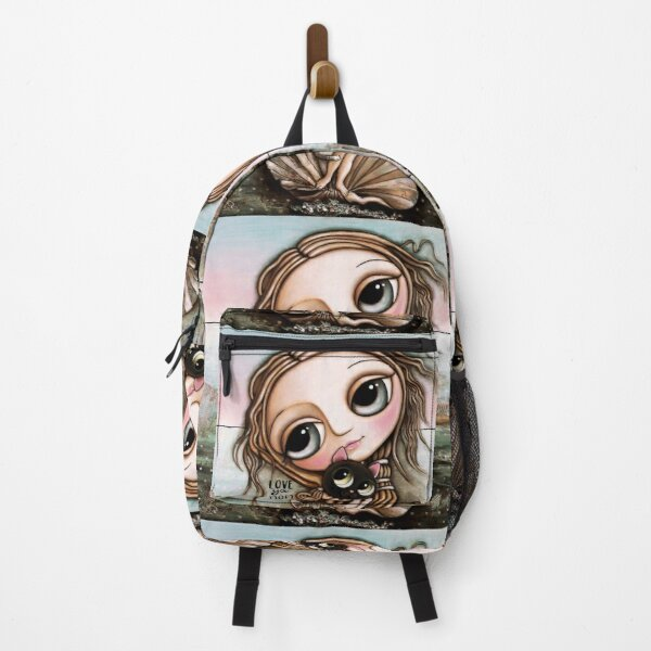 The Venus and the two cats Backpack