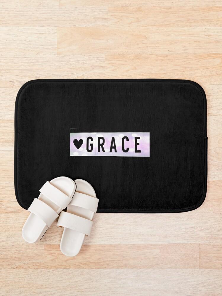 Alternate view of Grace magnet, Grace sticker Bath Mat