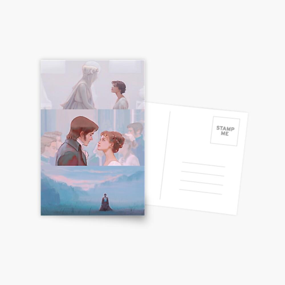 p & p Postcard
