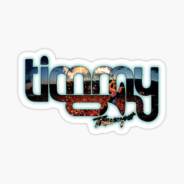 Trompette Timmy Sticker