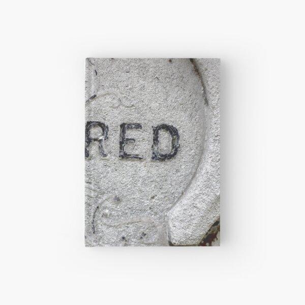 Sacred gravestone Hardcover Journal