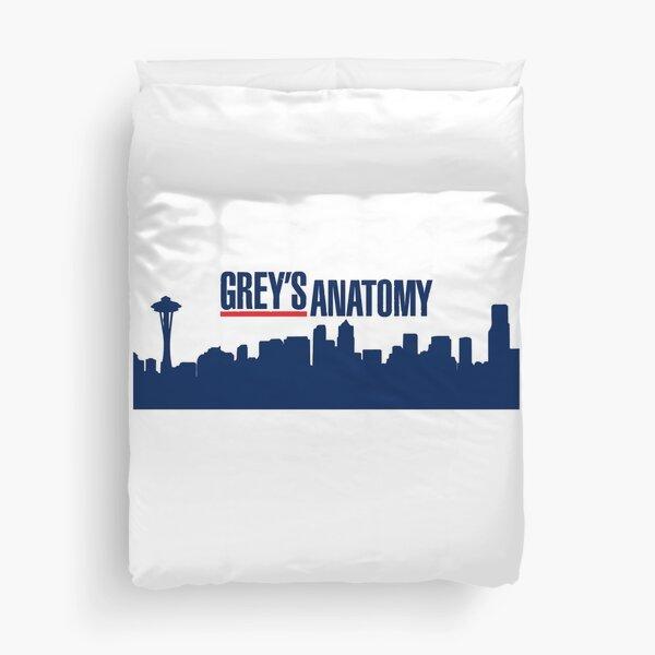 grey anatomy retro Duvet Cover