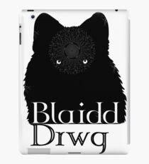 Blaidd Drwg! iPad Case/Skin