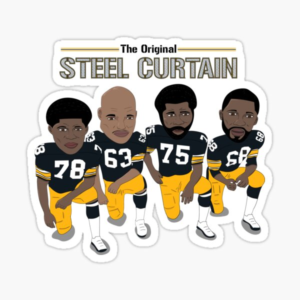 The Steel Curtain - Pittsburgh Steelers Sticker