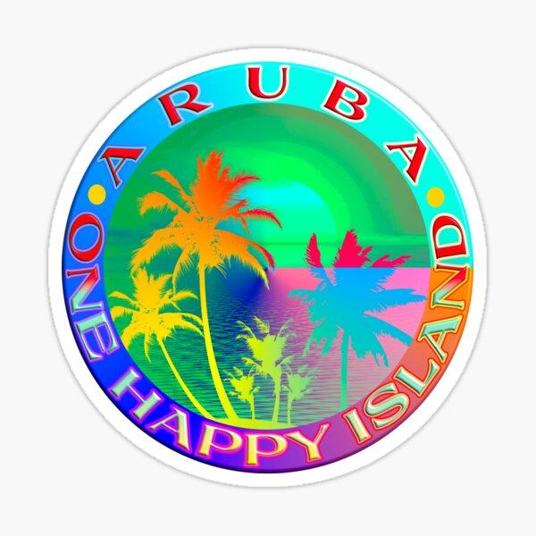 ARUBA - ONE HAPPY ISLAND Sticker
