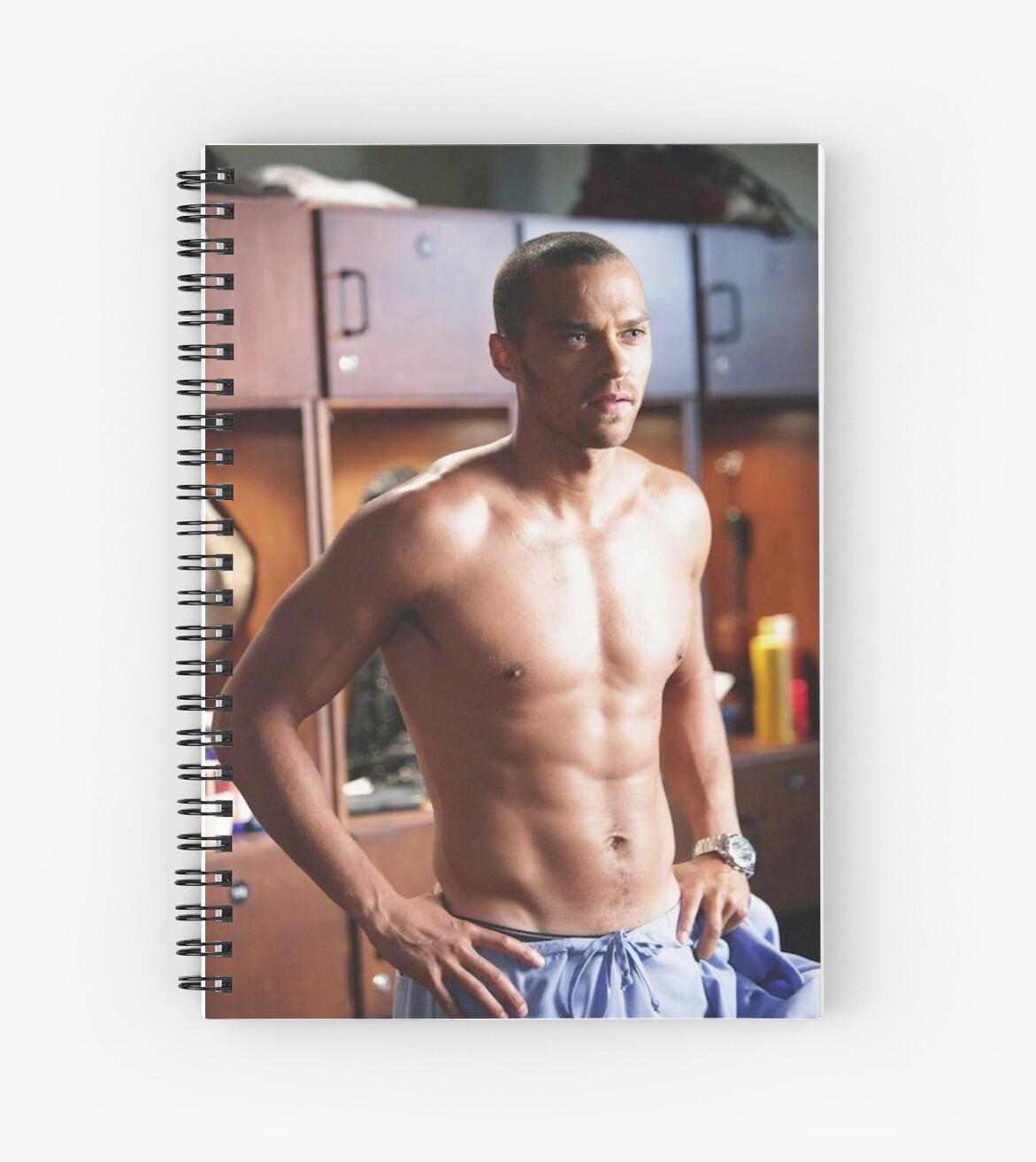 jackson avery spiral notebooks by lauren phinney redbubble