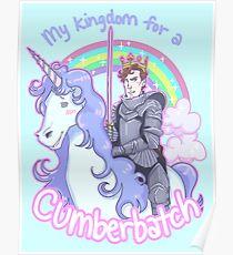 My kingdom for a Cumberbatch Poster