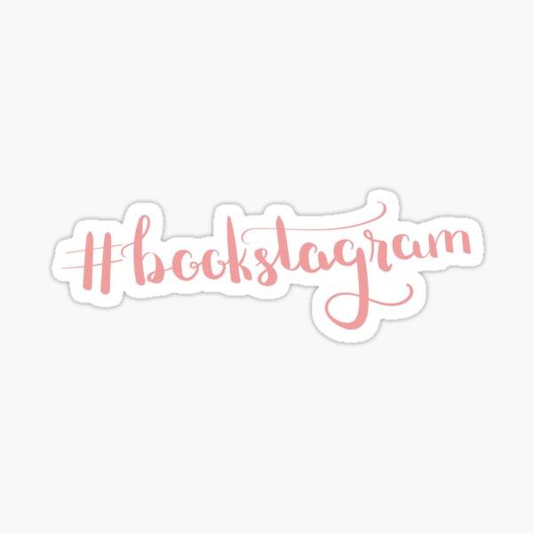 Bookstagram Hashtag Sticker