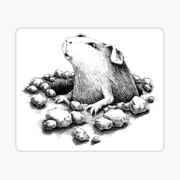 Lochschwein Sticker