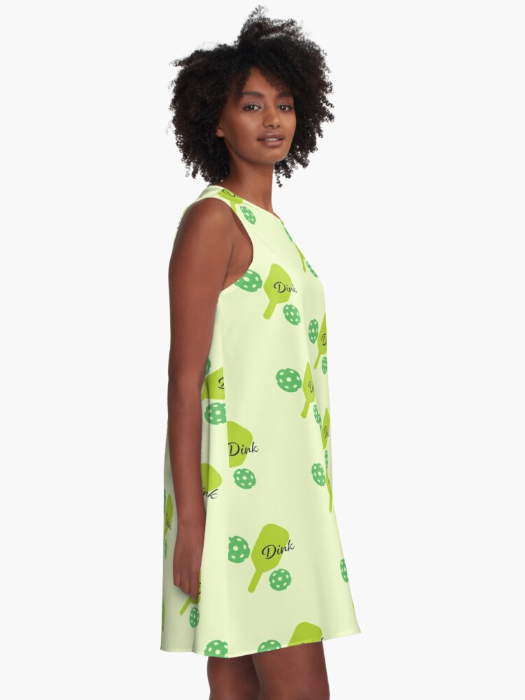 Alternate view of  Pickle-ball Dink  A-Line Dress
