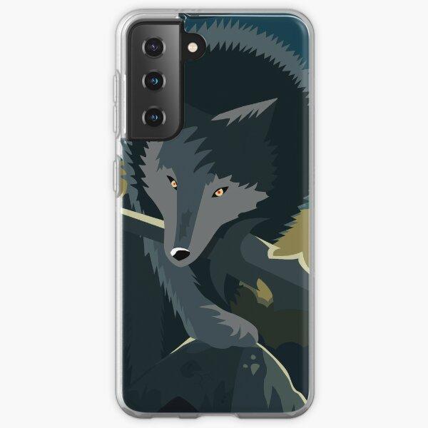 Sif, the Great Grey Wolf Samsung Galaxy Soft Case