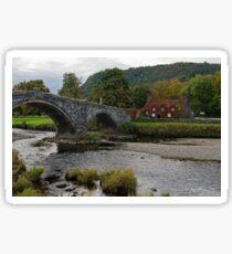 Llanrwst, North Wales Sticker